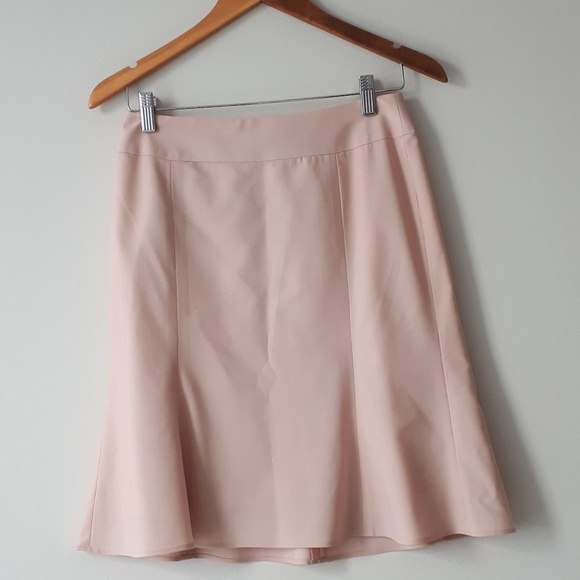 LOFT Dresses & Skirts - LOFT Wool Skirt Blush